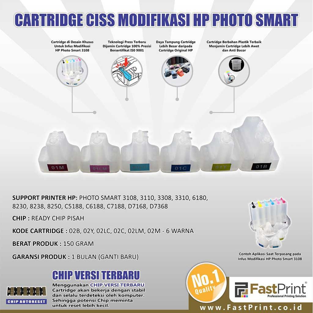 Hp 932 933 Ciss Modif Infus Officejet 7110 7610 7612 Shopee Karet Knee Neple Indonesia