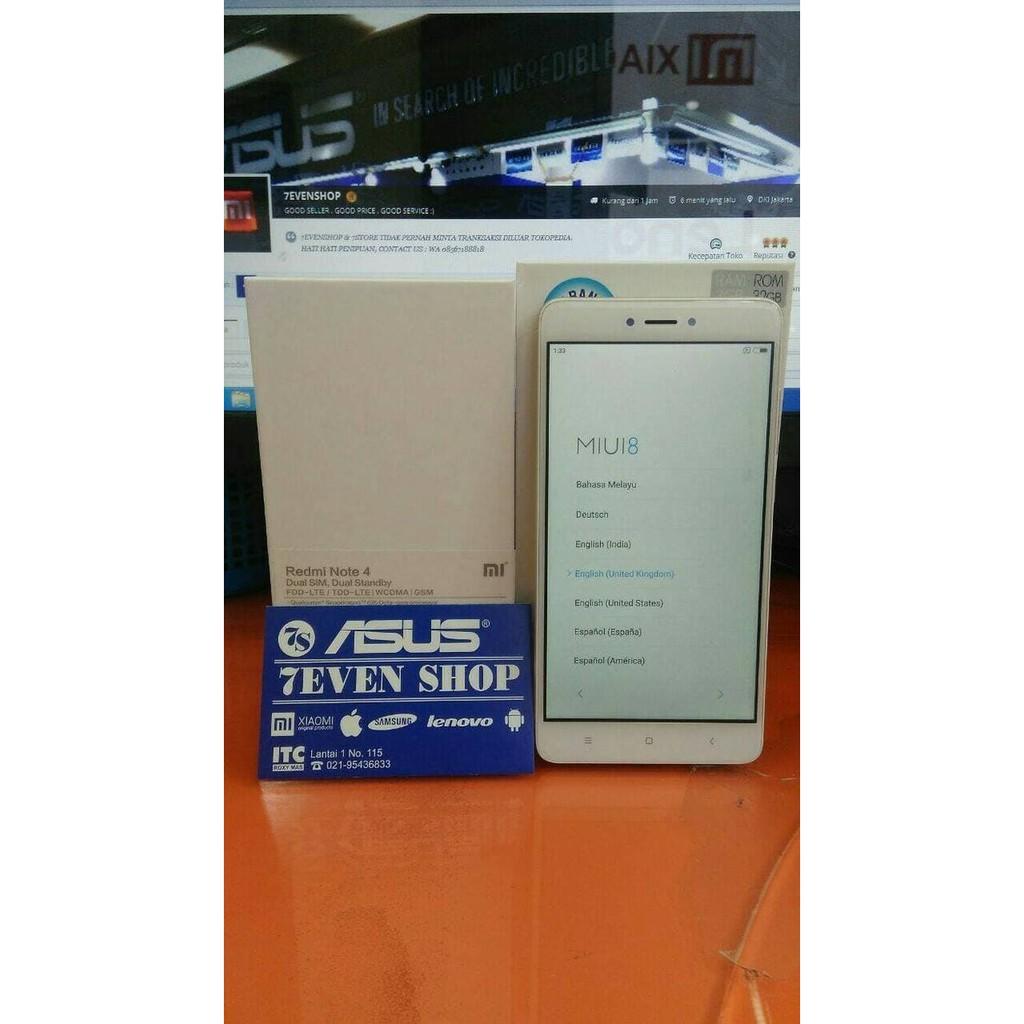 Xiaomi Redmi 4a Bahasa Indonesia Ram 2gb Rom 16gb Gold Grs Distributor Note 2 Ram2gb Global 4g Lte Bi Playstore