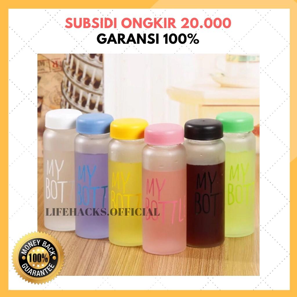 (PROMO 14PCS=1KG) MY BOTTLE BPA FREE POUCH 500ML/ GARANSI BOTOL MINUM