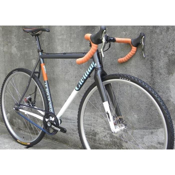 Set Tuas Rem Stang Sepeda Balap 22 2 23 8mm Cycle Brakes Handle Shopee Indonesia