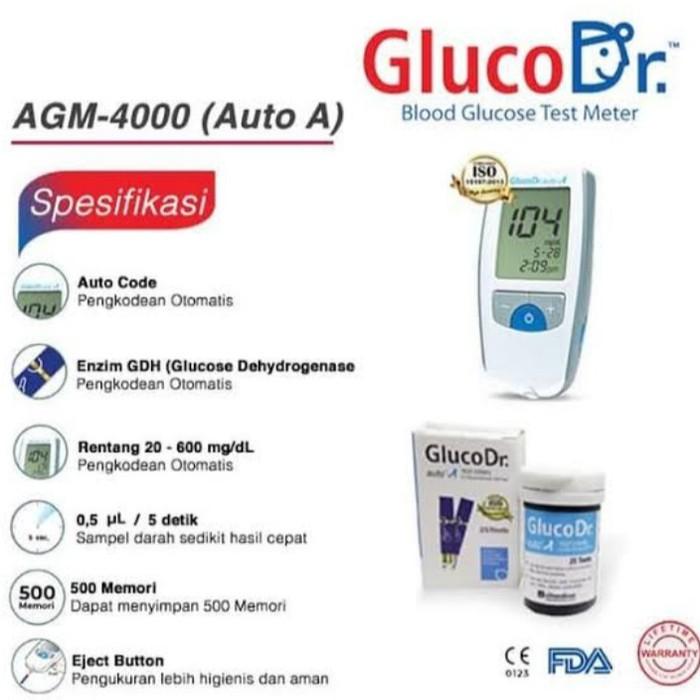 Alat Tes Gula Darah / Alat Dan Strip Gula Darah Gluco Dr