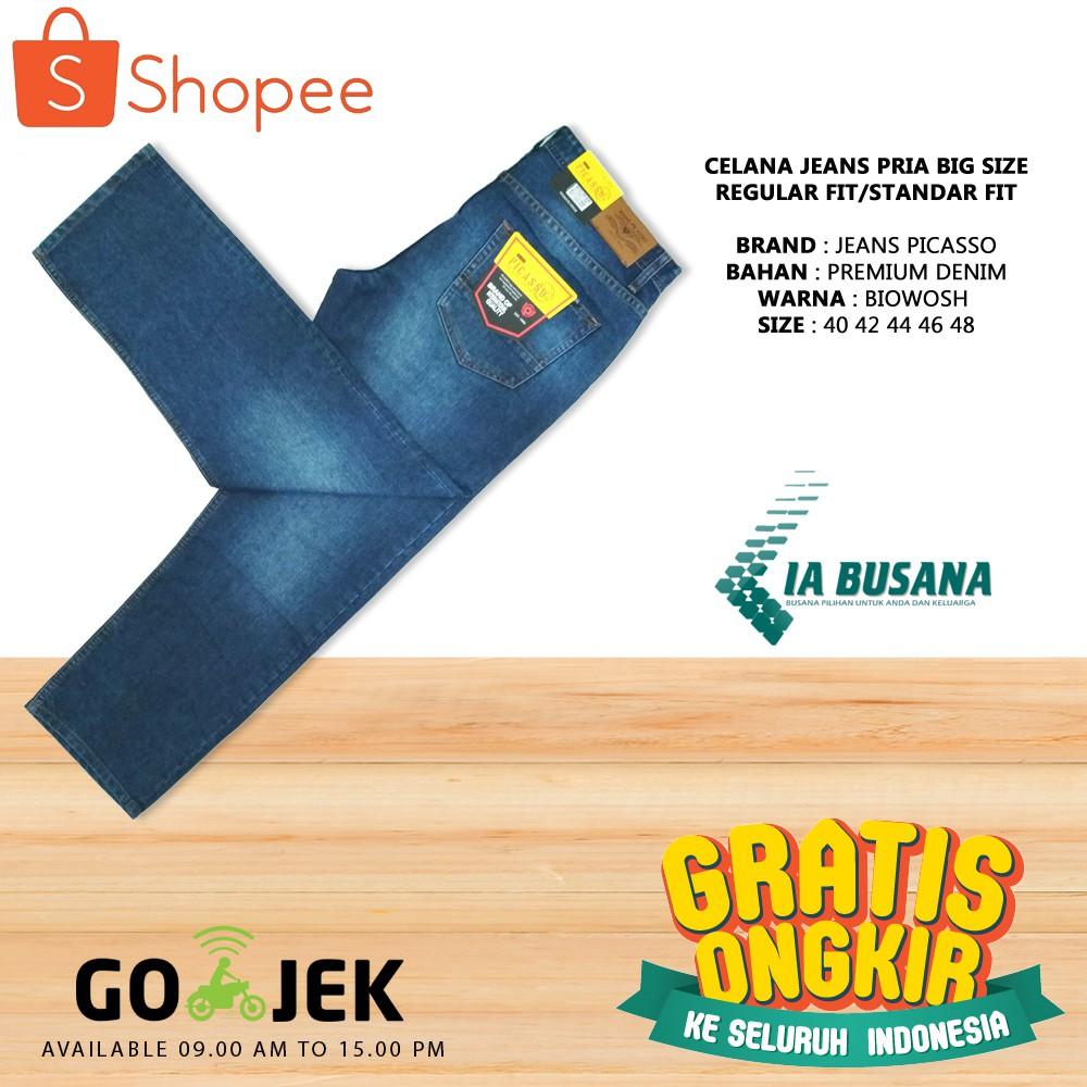 Celana Jeans Pria Panjang Branded Original De-Whos Model Standar Regular Ukuran 33 34 35 Terbaru | Shopee Indonesia