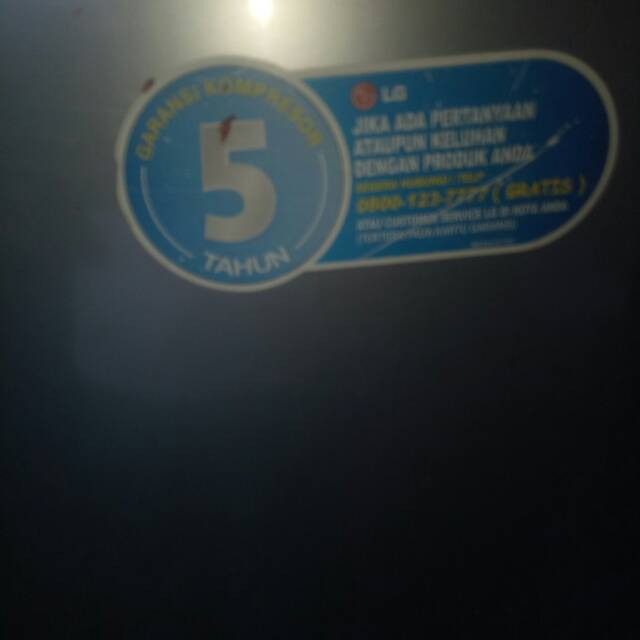 Kulkas 1 pintu LG