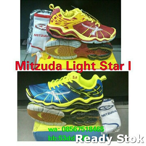 Sepatu Volley   Volly  Voli Mitzuda Light Star III ! 100% original ... e662f7e87e