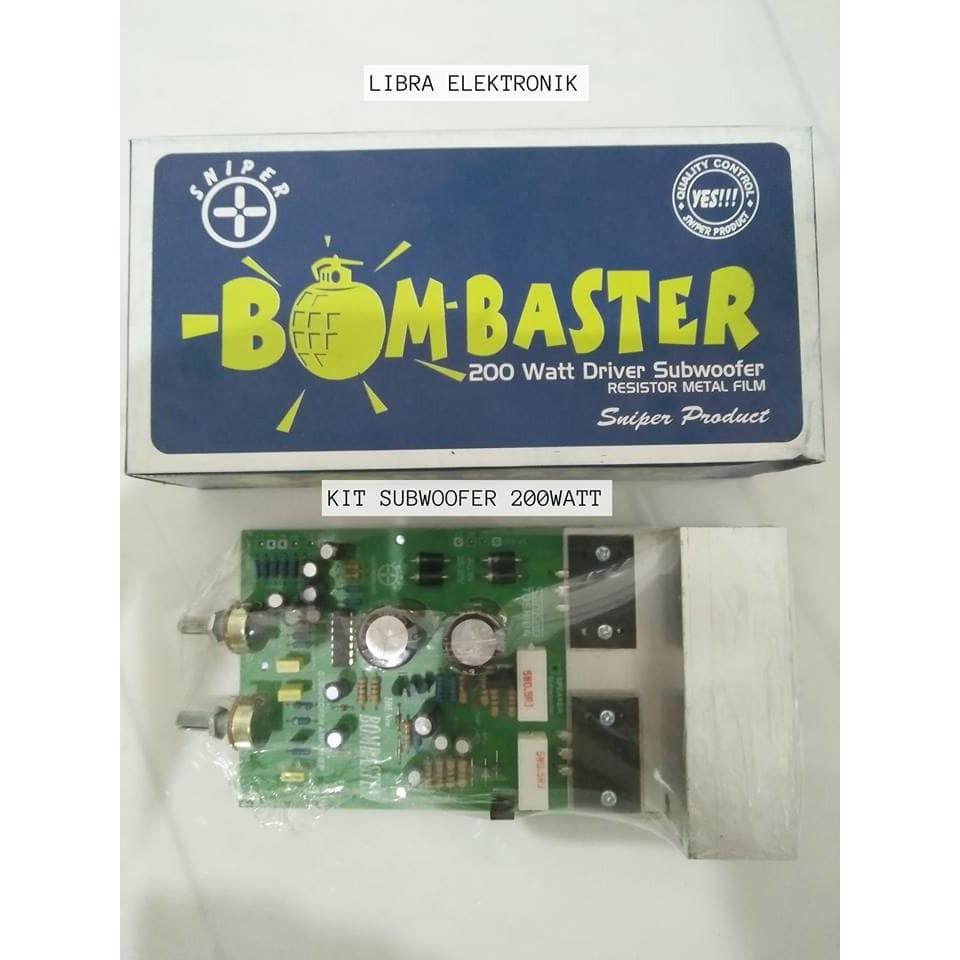Kit Driver Sanken Power 400 Watt Stereo Sn006 Shopee Indonesia 200 Amplifier For Car By 2sc2922 2sa1216