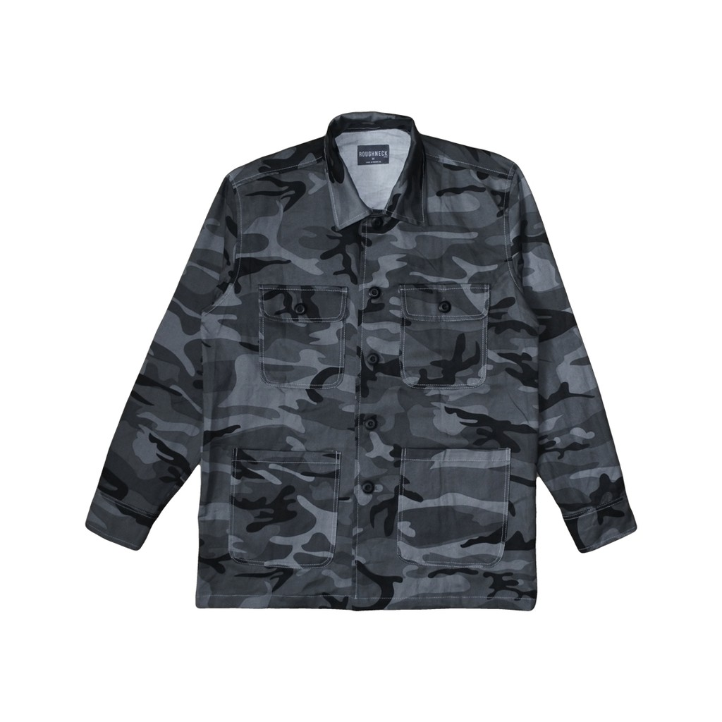 6a6e77f79 PK32 - Gray Camo Field Jacket (X)