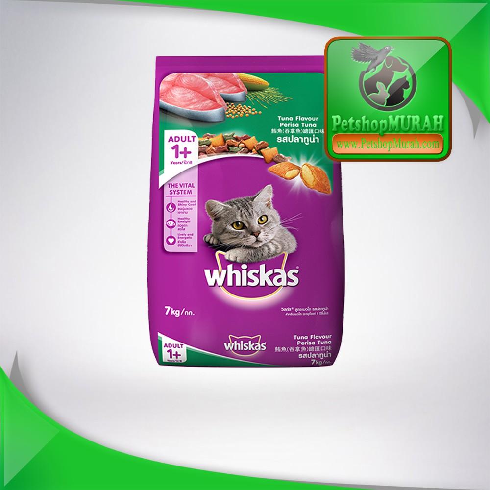 Makanan Kucing Whiskas Tuna 480 Gr Daftar Harga Terlengkap Indonesia Dry 480gr Kering Rasa Cat Food Adult