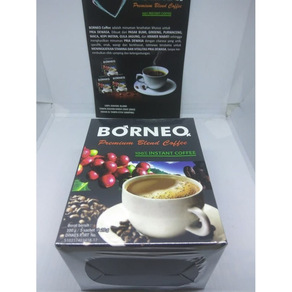 Promo/ kopi stamina pria dewasa borneo coffe exotica /Keren | Shopee Indonesia