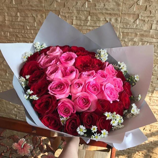 Download Foto Bunga Mawar Bentuk Love