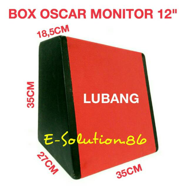 "Box OSCAR Monitor LM 12"" Box Subwoofer 12 inch Box Kulit Jeruk Audio Mobil Box Speaker 12inch"