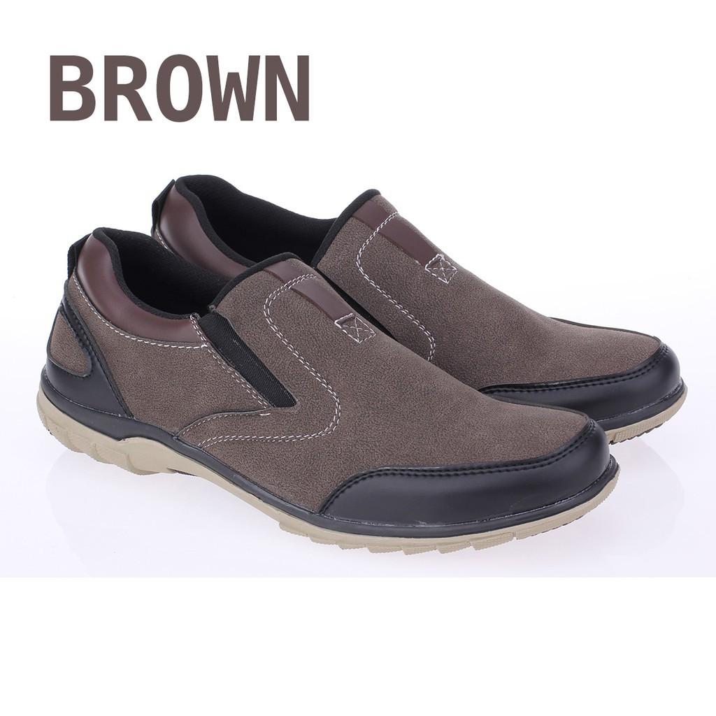 Termurah Catenzo Sepatu Casual Semi Formal Pria Sd 008 Abu Hitam Drkevin Leather Shoes 13301 Maroon 42 Shopee Indonesia