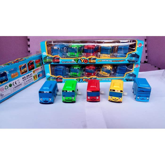 Mainan Tayo The Little Bus 5 In 1 Barang Produk Mobilan Tayo Original Aman Buat Anak Grab It Fast Shopee Indonesia