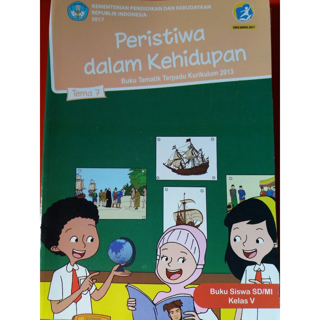 Buku Tematik Sd Kelas 5 Tema 6 7 8 9 Semester 2 Shopee Indonesia