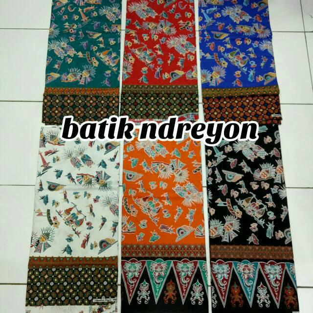 sarung pucuk rebung batik betawi ondel ondel ada warna pilihan ... 5f8fe1be6e
