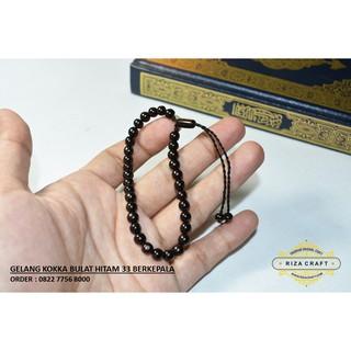 Gelang Tasbih Kayu Kokka Kaukah 33. Asli- Bersertifikat | Shopee Indonesia