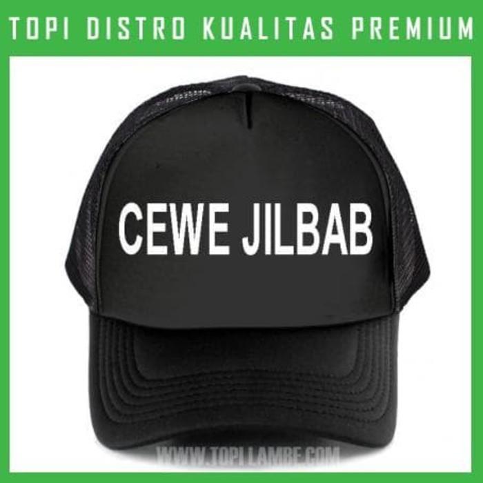 Jual topi cewe jilbab Trucker Baseball Snapback TMB209 Distro Murah ... 68e1e81842