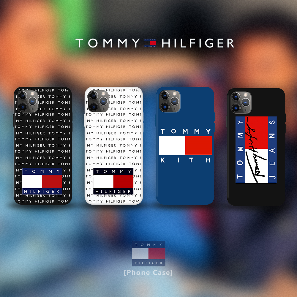 Phone Case For iPhone 11 PRO MAX 7 8 plus XS MAX XR SE2 Soft Cover TOMMY HILFIGER Back Shell