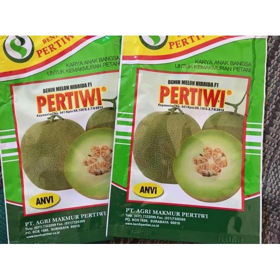 (tfi-770) Benih Bibit Melon Pertiwi Anvi ,,