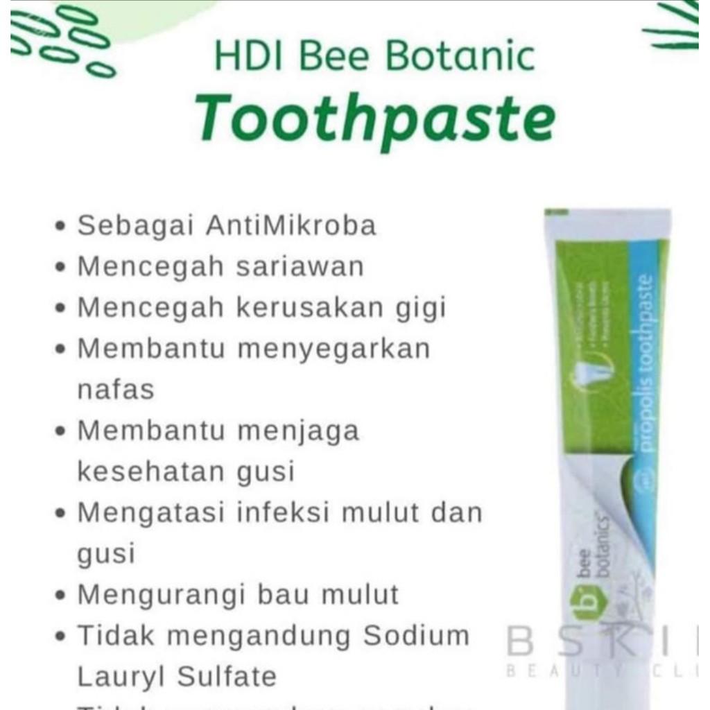 Hdi Propolis Toothpaste Odol Rp 34 000 Mengurangi Bau Mulut Mencegah Kerusakan Gigi Shopee Indonesia