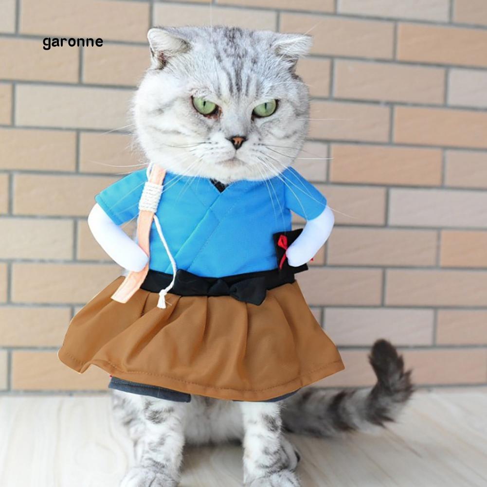 GR Kostum Anjing/Kucing Lucu Model Kimono Pelajar Berkacak ...