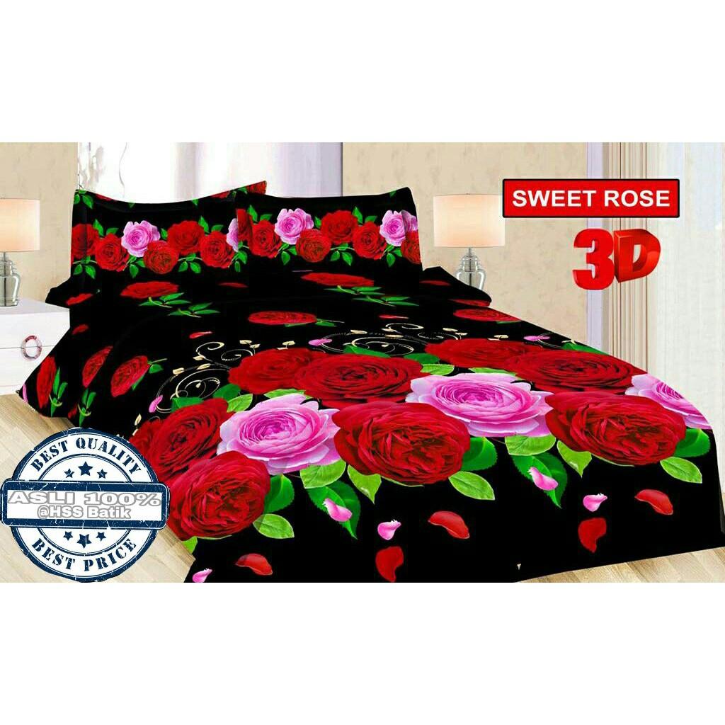 Sepre Bonita 180x200 B2g2 Lovely Rose Daftar Harga Terlengkap Seprei Ladyrose Alila