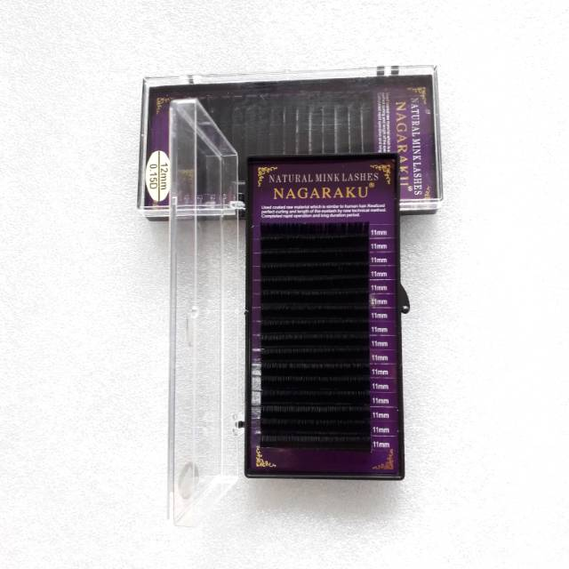 05e45b8ef1e NAGARAKU eyelash lash extension mink lashes single size | Shopee Indonesia