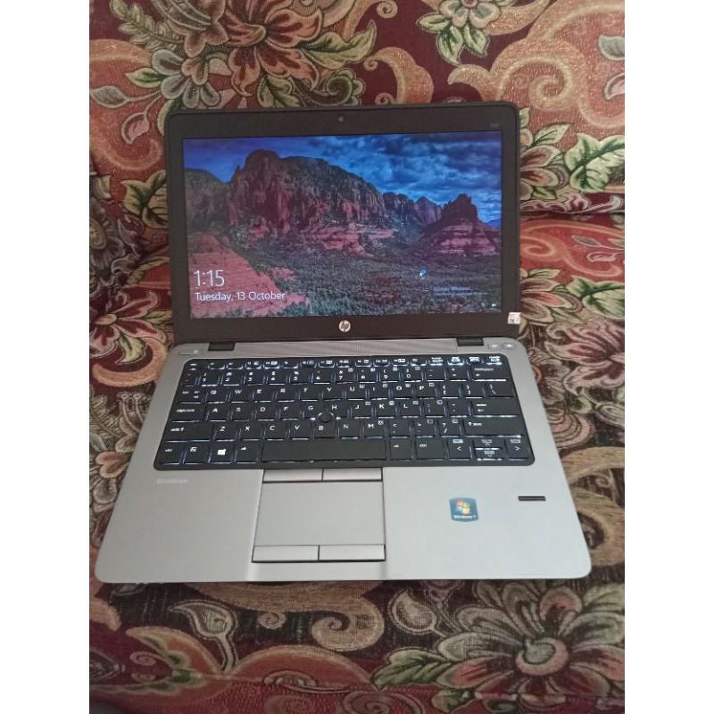 HP 820 G2 Core i7 gen5 ram 8gb SSD 120gb
