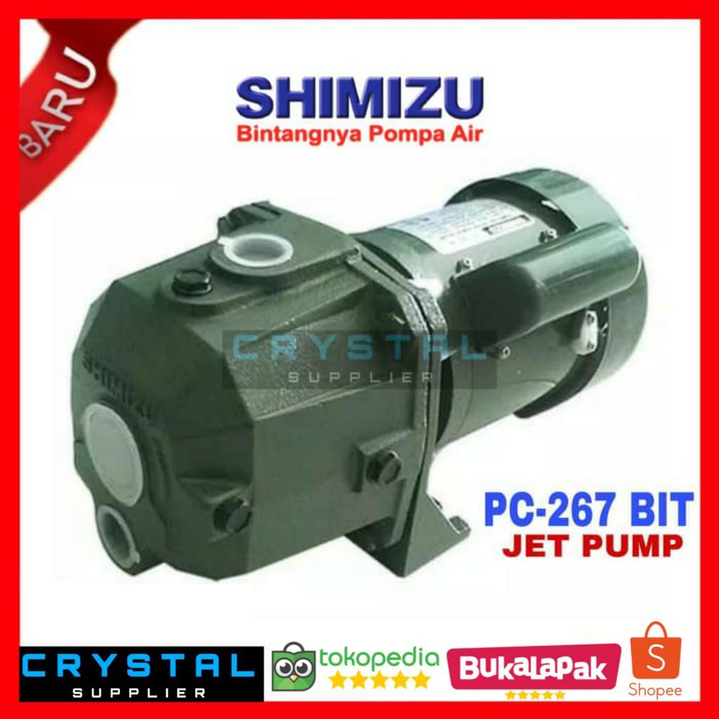 JET PUMP SHIMIZU PC-267 BIT Pompa Air / PC267BIT Sumur ...