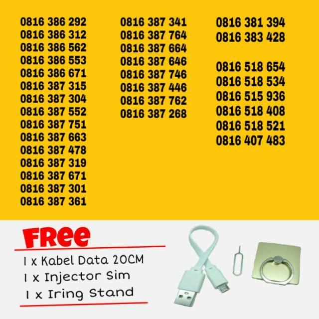 INDOSAT IM 3 NOMOR CANTIK 0856 1 518 518. SERI DOUBLE XL 4G Kartu Perdana Nomor Cantik Nomer Nocan Murah | Shopee Indonesia