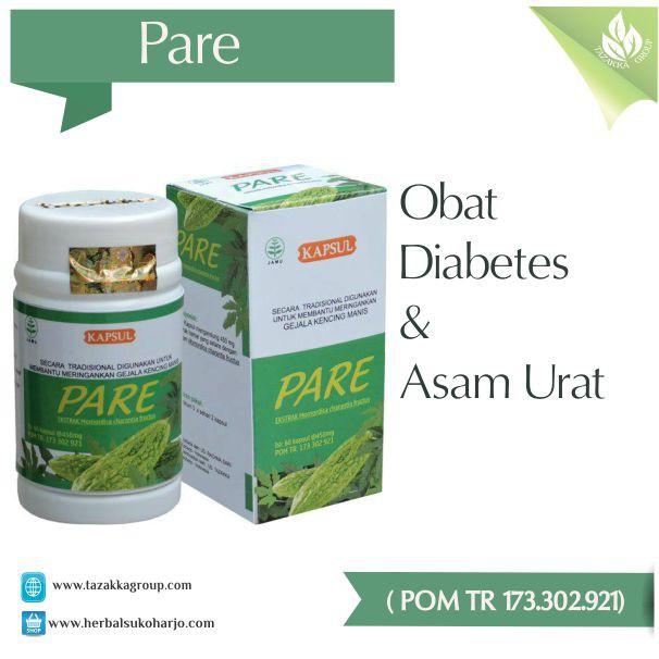 buah untuk diabetes dan asam urat obat
