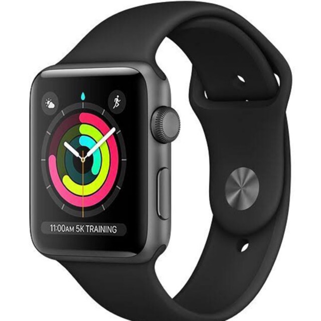 Apple Watch Series 3 38 Mm Gps Sport Band Smart Watch Iwatch Shopee Indonesia