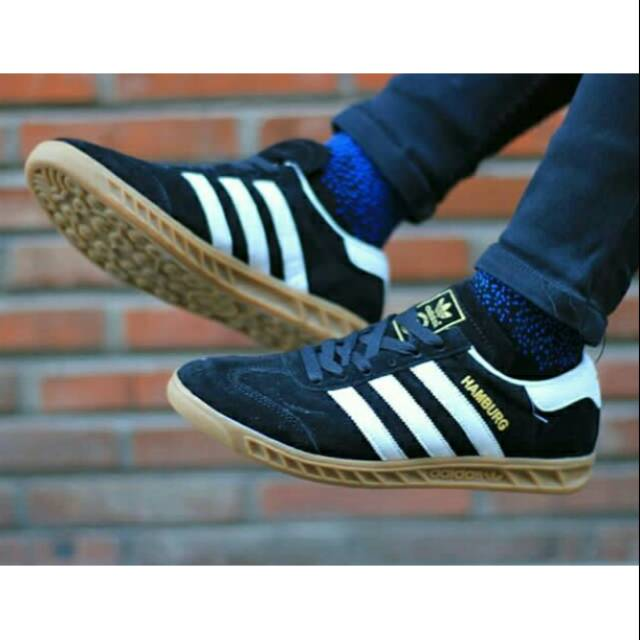 Adidas Hamburg Premium Original Shopee Indonesia
