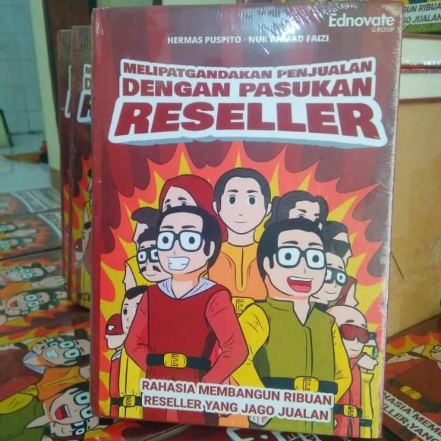 Buku Bisnis - Melipatgandakan Penjualan dengan Pasukan Reseller | Shopee Indonesia