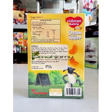 Vidoran Gummy Nutri Shaun The Seep Vitamin Kunyah Untuk Anak-anak 60gr | Shopee Indonesia