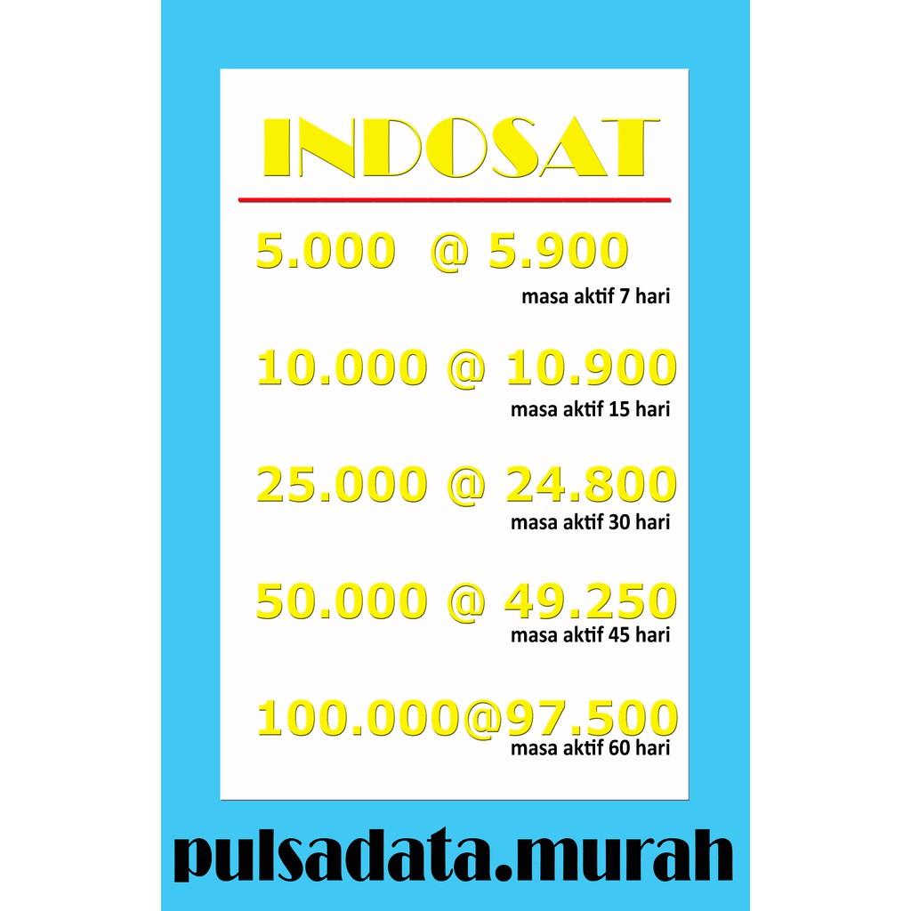 Pulsa Indosat Temukan Harga Dan Penawaran Online Terbaik Voucher 25k November 2018 Shopee Indonesia