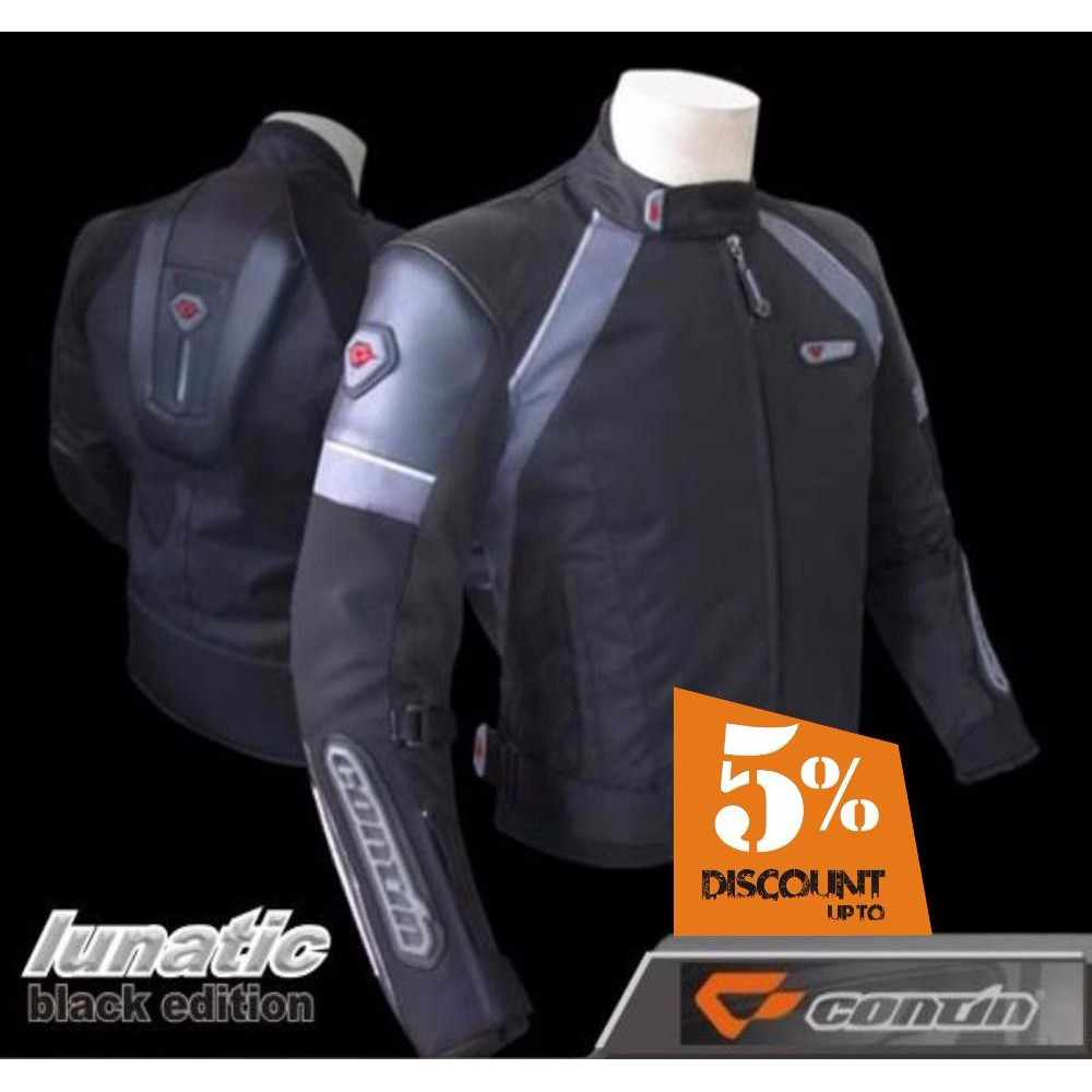 Jaket Motor Touring Biker Safety Protector Contin Speedtrap Rompi Vest Blaster Ori Anti Angin Shopee Indonesia