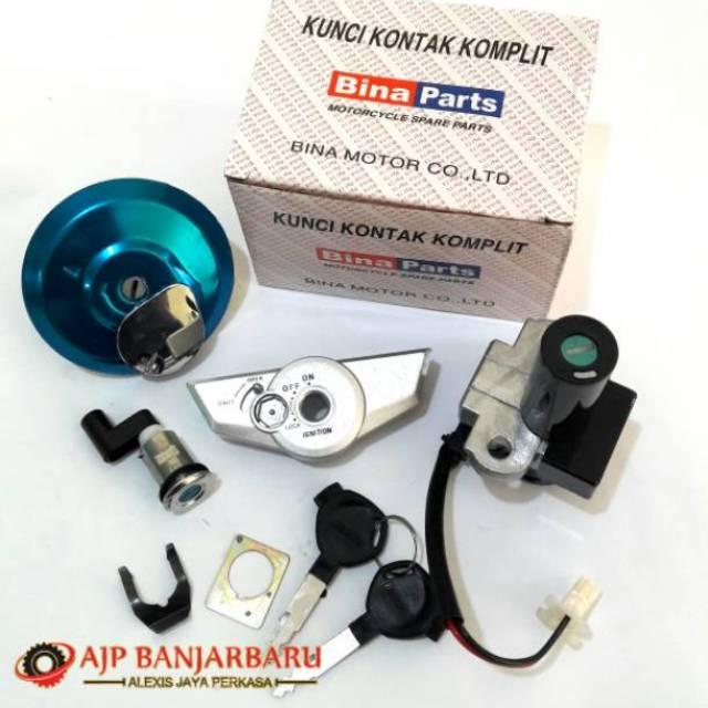 Kunci Kontak Cs1 Komplit Kunci Jok Assy Original Honda KWC Kualitas Bagus | Shopee Indonesia