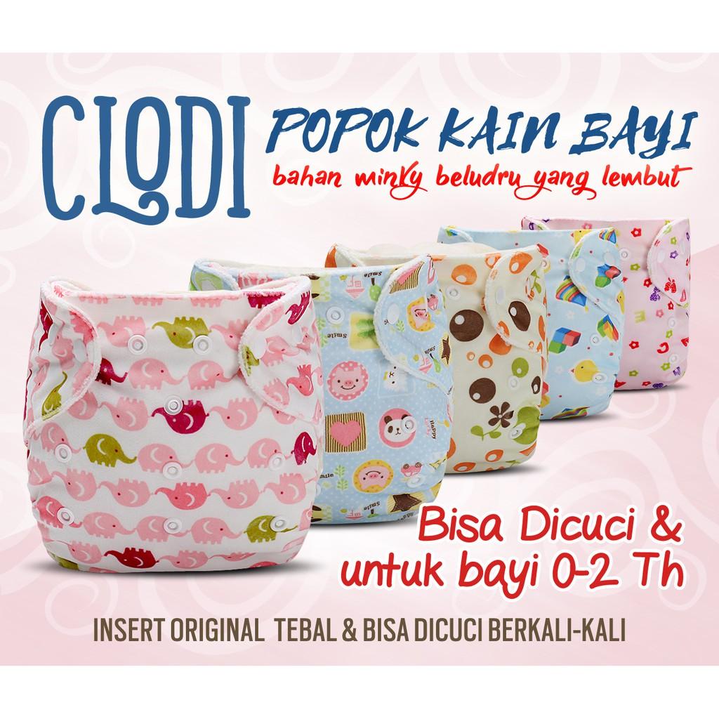 Sale Clodi Popok Bayi Minikinizz Shopee Indonesia Izzy Eco Cloth Diaper Kain Grosir  Motif 6
