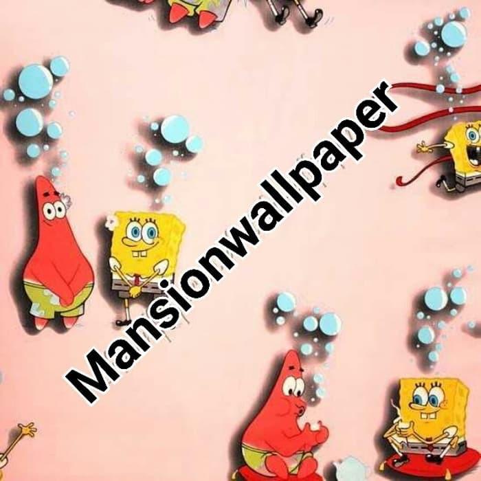 Wallpaper Dinding Anak Kartun Spongebob Patrick Keren Shopee Indonesia