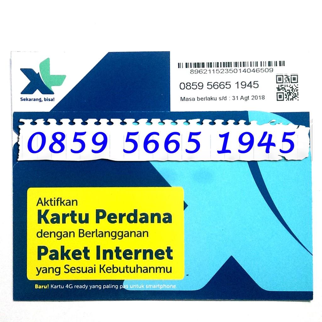 Perdana XL 4G Nomor Cantik XL 4G LTE ABAB AABB ABCD 0818 8089 18818 | Shopee