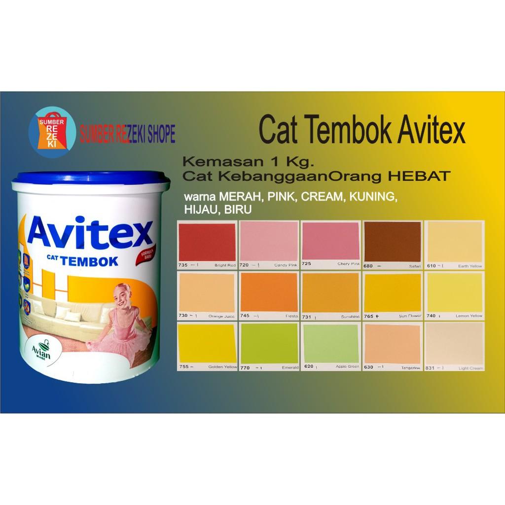 Cat Tembok (Merah,Pink,Kuning,Cream,Hijau) Plafon Gypsum ...