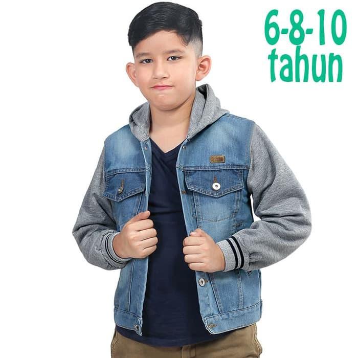 Jaket Anak Laki-Laki Over Printed Outwear Abu T 2371 Tdlr Cutes ...