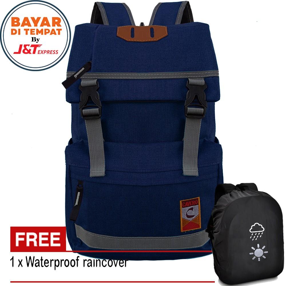 Carboni Ransel & Sling Bag AA00023-10 Dobel Fungsi - Dark Grey | Shopee Indonesia