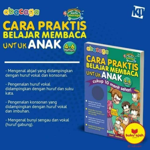 abacaga original cara praktis belajar membaca anak usia 4 6