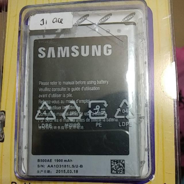 Ori 99 Baterai Batrai Batre Samsung Galaxy J1 Ace / S4 Mini