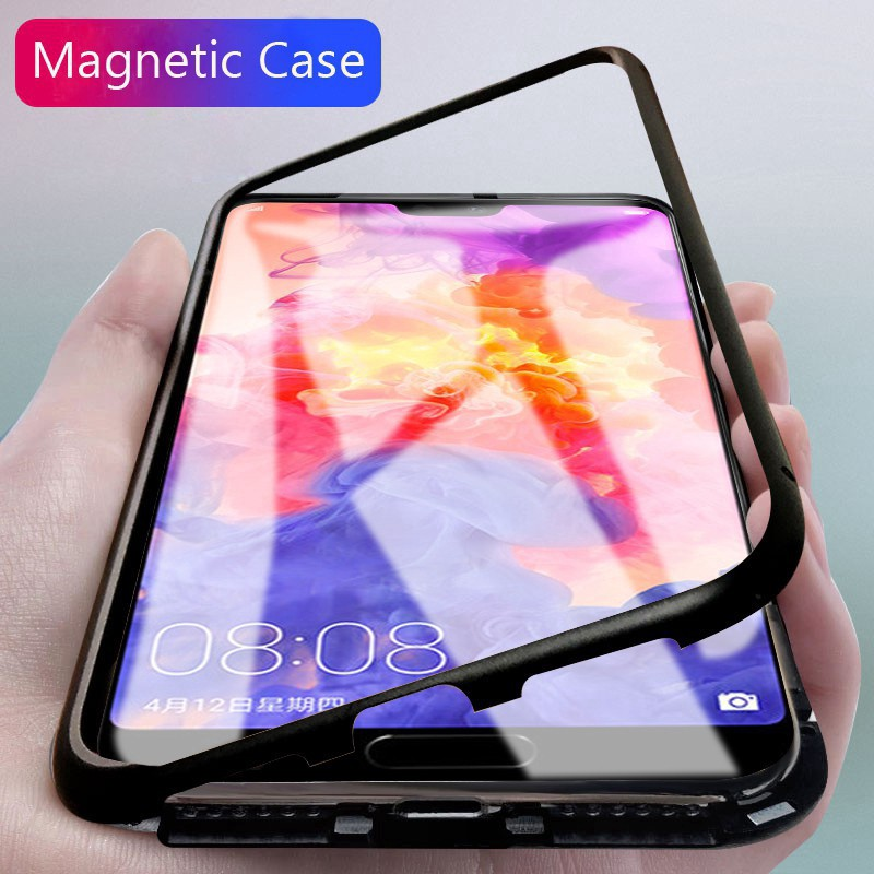 Samsung Galaxy S8 /S8 Plus Slim Magnet Metal Glass Hard Case | Shopee Indonesia