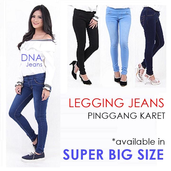 [Size 27-34] Celana Boyfriend Jeans Wanita BIG SIZE Jumbo Basic JSK JEANS   Shopee Indonesia