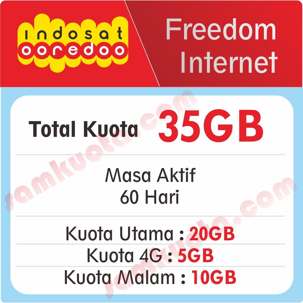 Kuota Isi Ulang Indosat Ooredoo 1gb 2gb 3gb 7gb 10gb 15gb Unlimited Voucher Mini App Sms Nelpon 30 Hari Shopee Indonesia