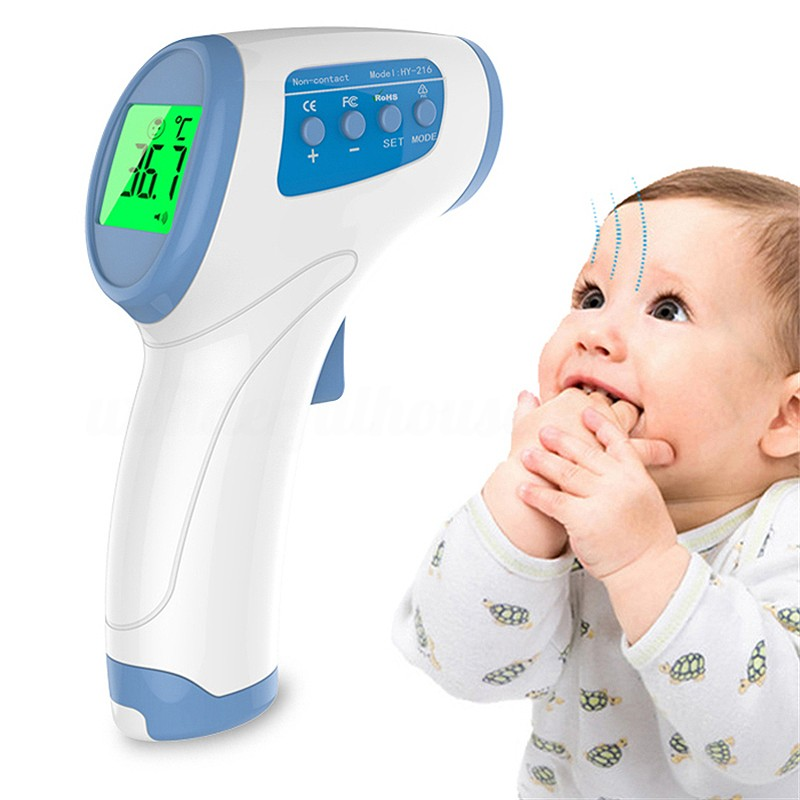 4 in 1 Ear and Forehead Thermometer Adult Baby Infrared IR LCD Digital Medical 0