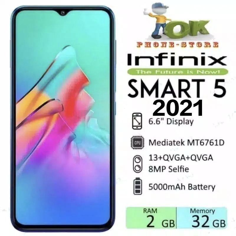 INFINIX SMART 5 2021 2/32 3/64 GB GARANSI RESMI